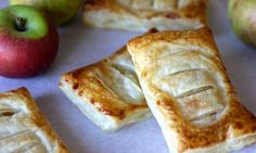 Save yourself a trip to the bakery and whip up these simple and delicious 3 ingredient apple Danishes at home. The pastry parcels can be enjoyed warm or cold, as dessert or as an anytime-of-the-day treat.