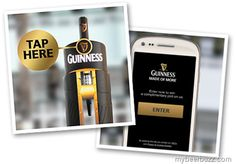 NFC - Guinness Offers Free Pints To NFC Phone Owners
