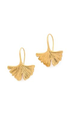 Aurelie Bidermann Tangerine Earrings. Gingko <3