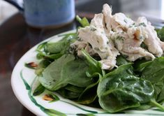 Lemony Tarragon Chicken Salad