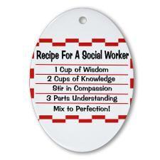 Social Worker II Ornament (Oval)