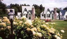 Cottage Motel in the White Mount Bethlehem, NH