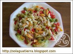 Receta: Ensalada templada de pasta para el verano