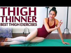 ULTIMATE Inner Thigh Challenge Workout Best Leg Slimming Exercises - YouTube