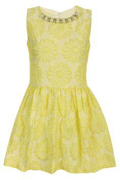 ROMWE | Fake Diamonds Yellow Dress, The Latest Street Fashion #Romwe