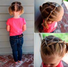 Прически для маленьких девочек на короткие волосы фото