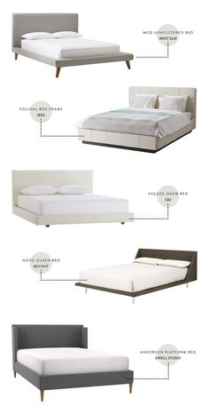 Modern Upholstered Bed Frames