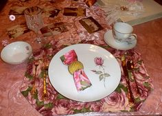 DEBBIE-DABBLE BLOG: Anniversary Tablescape and Dinner