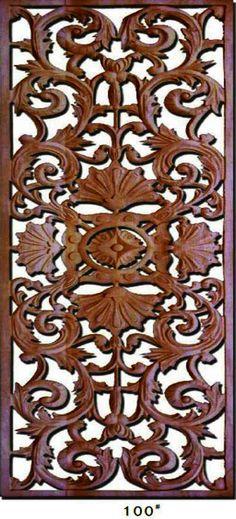 Decorative-Carved-Wood-Panels
