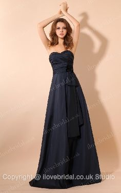 High Quality A-line Bridesmaid Dress With Sweetheart Neckline