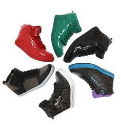 Kick your style up a notch in rue21's newest high top sneakers.