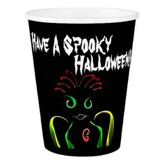 """""""Have A Spooky Halloween"""" Paper Cup - guest gifts gift idea diy personalize"""