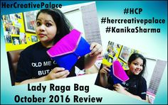 @ladyraga_india Bag October 2016 review video is live on my YouTube channel. Watch here:https://youtu.be/hfXGy624rB8  #hercreativepalace #beauty #kanikasharma #youtuber #delhi #india #reviewvideo #video #lifestyle #ladyragabag #subscriptionbox #indiansubscriptionbox #october2016 #makeup #skincare #ladyragaindia