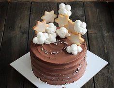 Торт с облаками