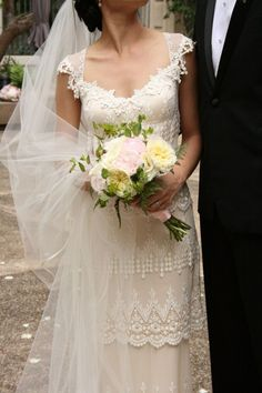 Claire Pettibone Kristene Wedding Dress