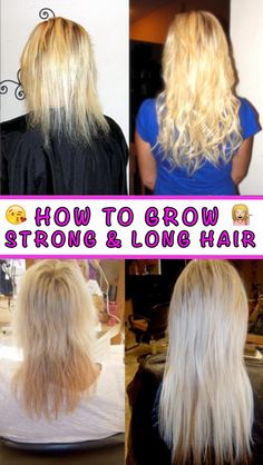 Toss the fake hair extensions and grow your hair naturally. Learn How: