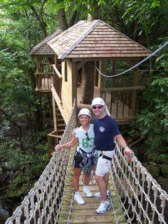 Canopy Tour and Ziplining: St. Johns, Antigua