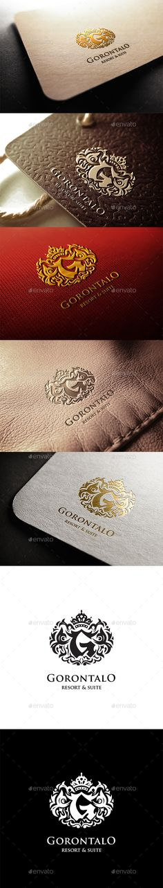 Gorontalo Resort Logo — Vector EPS #real estate #luxury • Available here → https://graphicriver.net/item/gorontalo-resort-logo/11299731?ref=pxcr
