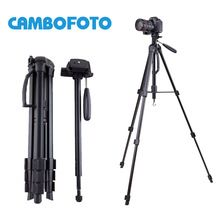CamboFoto SAB264 5KG bear aluminium monopod stand professional camera tripods for Canon Nikon video dslr tripod 360 Fluid head