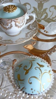 The French Tangerine: ~ aqua inspiration