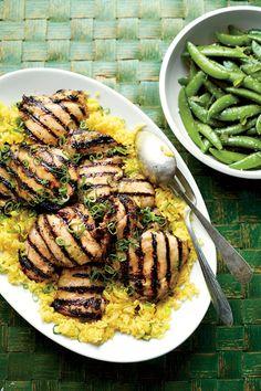 Chicken Thigh Recipes: Garlic-Yogurt-Marinated Chicken Thighs