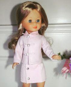 Vestidos Para Nancy de Chus Garcia: Conjunto piel rosa.!!!