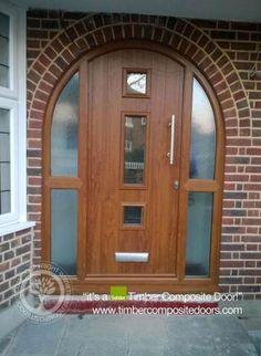 Composite front door website 51 ideas for 2019 Arched Front Door, Front Door Porch, Porch Doors, Arched Doors, Glass Front Door, Entrance Doors, Oak Doors, Double Sliding Barn Doors, Sliding Door Design