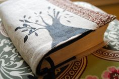 The Art of Homemaking: Making a Bible or Book Cover in Less Than An Hour