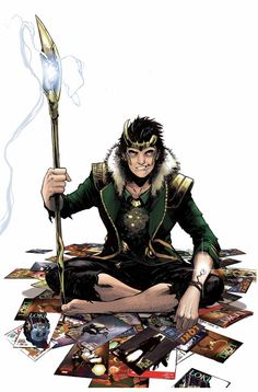 Loki: Agent of Asgard #17 ---> holy fudge the chitary scepter is back!