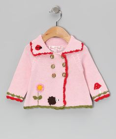Look at this Powell Craft Pink Enchanted Forest Jacket - Infant on #zulily today!