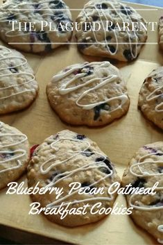 A recipe for a delicious, healthy breakfast your kids will love because it is a cookie!