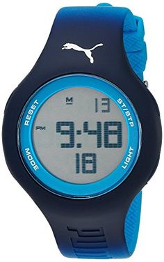 loop chrono digital blue unisex