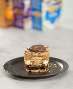Girl Scout Cookie Layer Bars | Why pick one Girl Scout Cookie when you can have them all… in one epic dessert bar. This decadent amalgamation of Girl Scout Cookies—featuring Trefoils, Samoas, Do-si-dos, and Tagalongs—is the perfect recipe for anyone who simply can't say no to any scout who asks. Go ahead; generosity earns you extra indulgence points, everyone knows that.