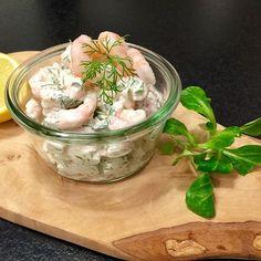 Lækker rejesalat på 5 minutter – nemt til madpakken eller picnic