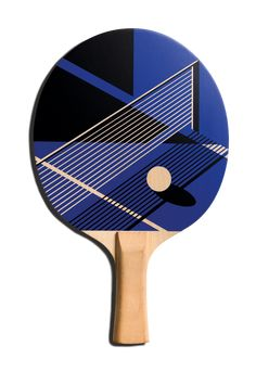 The Art of Ping Pong is a collaboration between Fivefootsix and a range of exciting, influential and upcoming artists and illustrators. All artists create  a surprising bespoke ping pong paddle, raising money for BBC Children in Need.