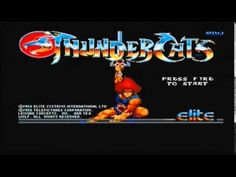 Title screen music and in-game footage, Thundercats Commodore Amiga Music