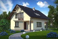 Tencuiala structurata alba pentru fatada exterior Home Fashion, Cabin, House Styles, Outdoor Decor, Home Decor, Decoration Home, Room Decor, Cabins, Cottage