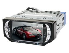 """5"""" 1 Din Car DVD Player with Bluetooth Analog TV RDS  Highlights:      • 5-Inch touch screen TFT LCD screen.      • Support FM radio, Bluetooth, analog TV functions.      • Compatible with MP4/DIVX/DVD/VCD/SVCD/CD/MP3/CD-R-RW."""