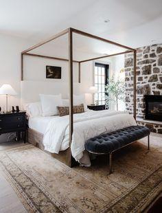 Home Design Diy, Home Interior Design, House Design, Cottage Design, Interior Livingroom, Dream Bedroom, Home Bedroom, 50s Bedroom, Couple Bedroom