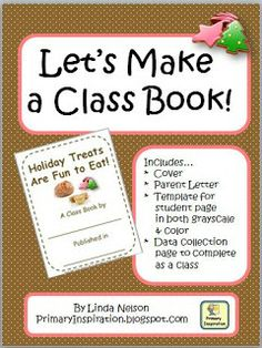 Classroom Freebies: Class Book: Holiday Treats!