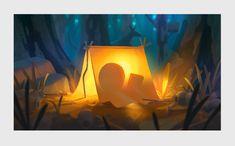 CADBURY - Colin Bigelow Environment Concept, Environment Design, Color Script, Creative Company, Digital Painting Tutorials, Matte Painting, Visual Development, Environmental Art, Digital Illustration