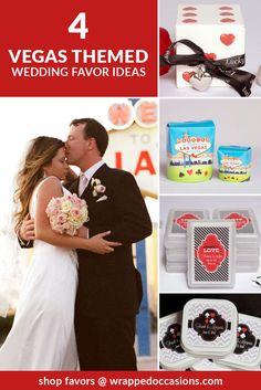 Las Vegas Wedding Favors Ideas Casino Nights