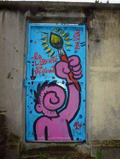 "Artist : Paella Chimicos.""Bagnolet France"""