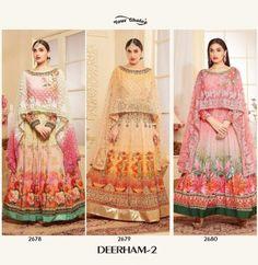 1e7ecc2ef07 Your choice deerham vol 2 exclusive bridal lehanga dress collection best  wholesale Rate (3)