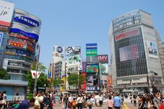 Stand in awe and absorb the sheer scale of modern Japan's commercial ambitions at Hachiko, the world's busiest street crossing. http://www.ampersandtravel.com/japan/places-of-interest/tokyo/
