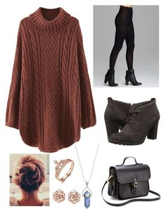 """""""Untitled #273"""" by penguin-pope on Polyvore featuring beauty, WithChic, Wolford, Timberland and The Cambridge Satchel Company"""