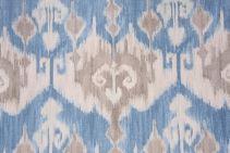Richloom Marika Printed Cotton Drapery Fabric in Horizon $8.95 per yard