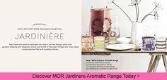 New Mor Jardinere Home Fragrance Collection