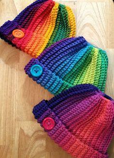 590 Mejores Imágenes De Gorros Tejidos Al Crochet En 2019 Hat
