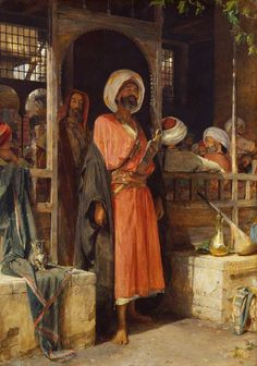 The Door of a Café in Cairo | J.F. Lewis, 19th century